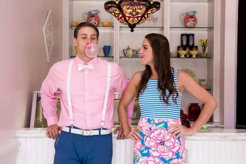 Ice Cream Parlour  Engagement Florida (1)