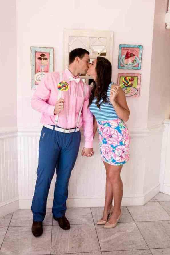 Ice Cream Parlour Engagement Florida (20)