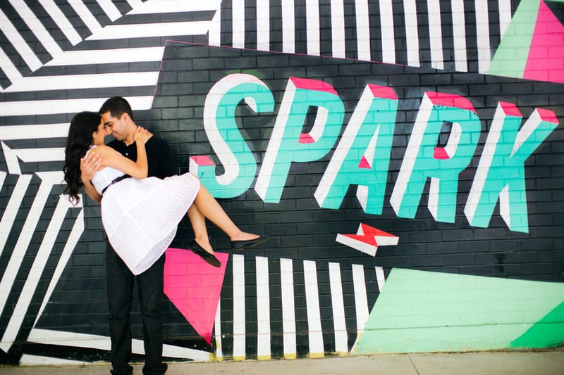 The best wall murals for this engagement in a ball pit