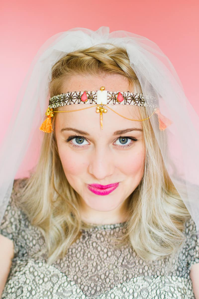 Styling wedding veils with floral flower crowns giant bows and boho headpieces for the modern bride britten weddings-15