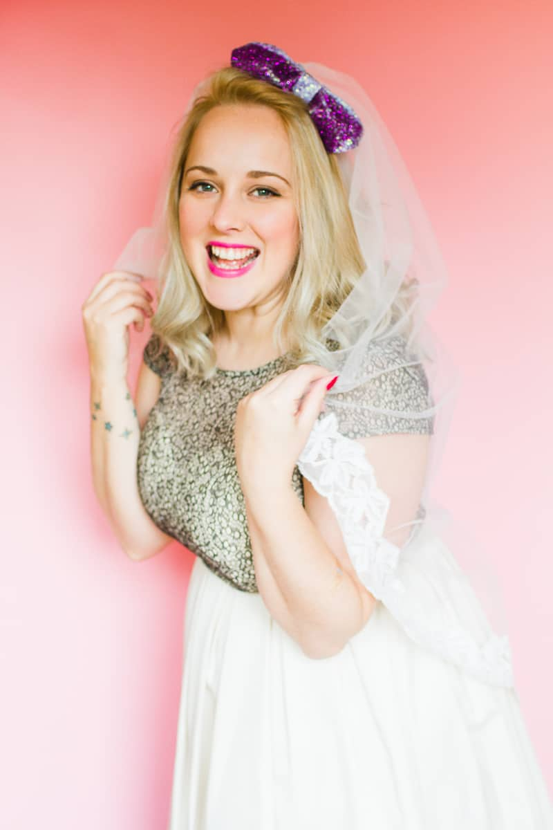 Styling wedding veils with floral flower crowns giant bows and boho headpieces for the modern bride britten weddings-22