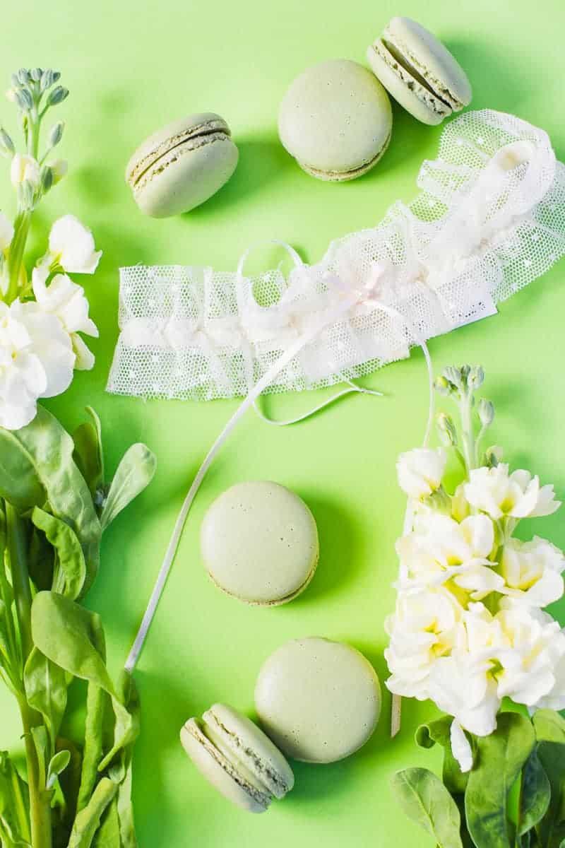 Wedding garter co USA still styling garters lace tulle details weddings_-4