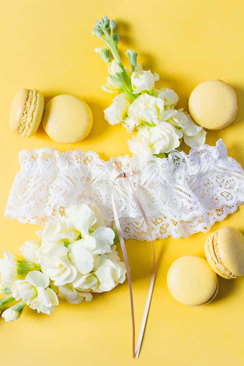 Wedding garter co USA still styling garters lace tulle details weddings_-5