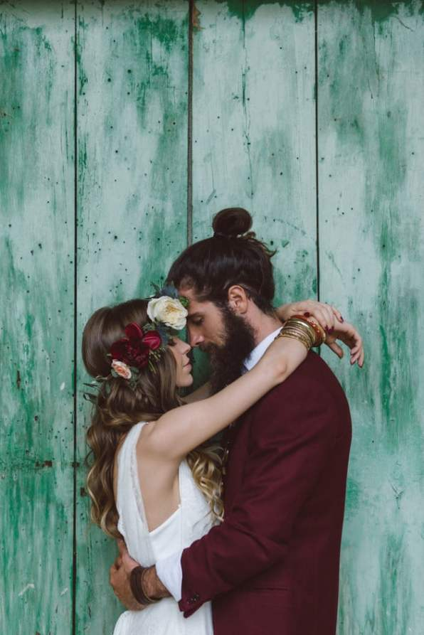 Wedding Day Man Bun 2