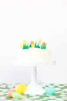Easter Egg Cake Topper