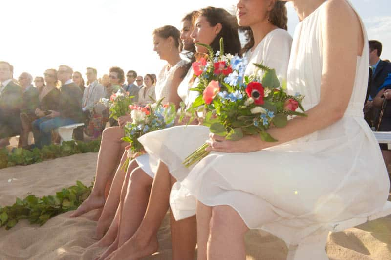 INTIMATE SWEDISH INSPIRED BEACH WEDDING IN A NON TRADTIONAL VENUE (21)