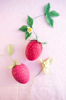 Strawberry Eggs