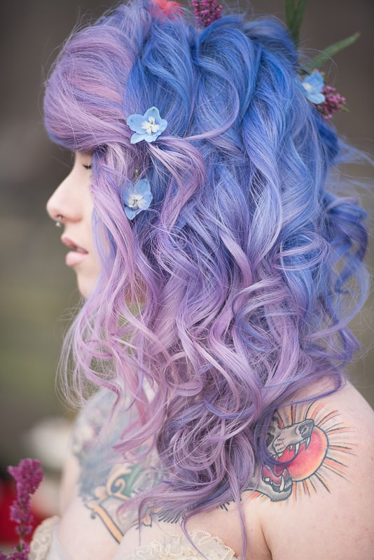 COLOURFUL ROCKABILLY TATTOOED BRIDAL INSPIRATION (5)