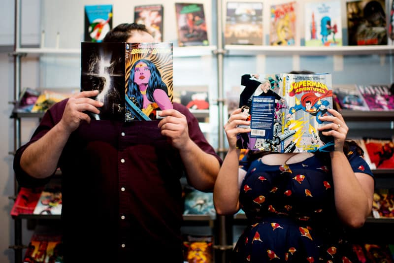 COMIC BOOK SUPER HERO ENGAGEMENT SHOOT MARVEL DC (6)