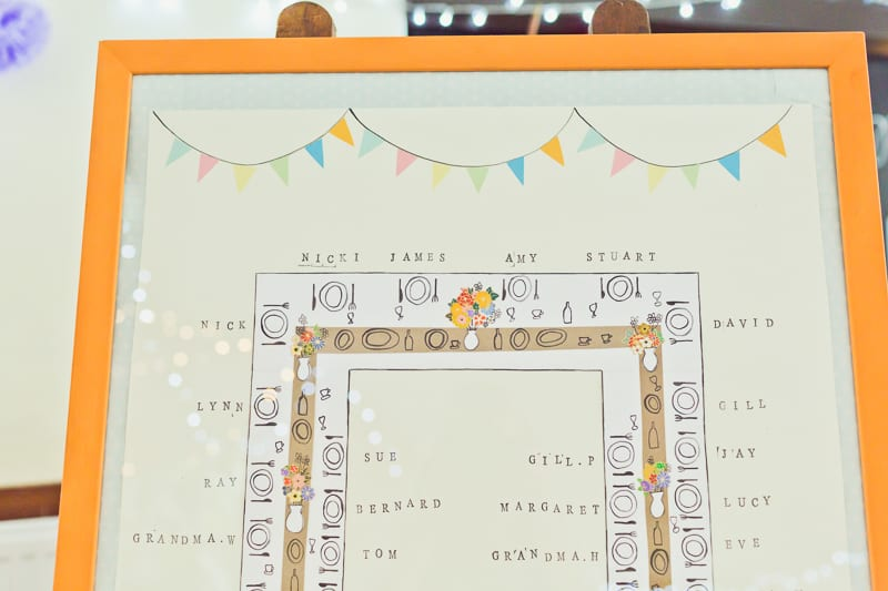 THIS CUTE DIY WEDDING IN A VILLAGE HALL IS EVERY CRAFTER'S DREAM! (16)