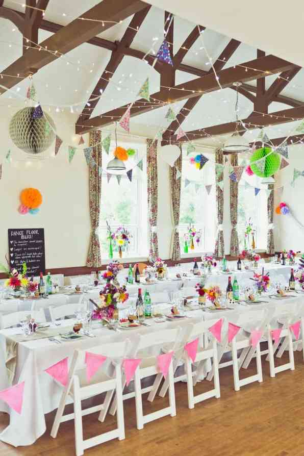 THIS CUTE DIY WEDDING IN A VILLAGE HALL IS EVERY CRAFTER'S DREAM! (19)