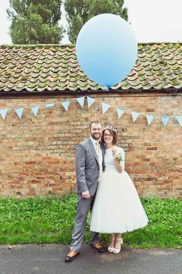 THIS CUTE DIY WEDDING IN A VILLAGE HALL IS EVERY CRAFTER'S DREAM! (34)