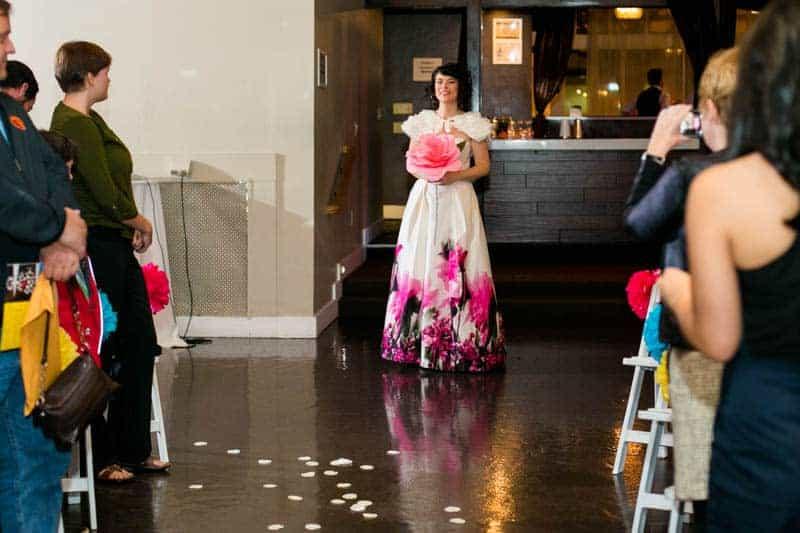 COLOURFUL SCIENCE THEMED WEDDING IN URBAN PORTLAND (12)