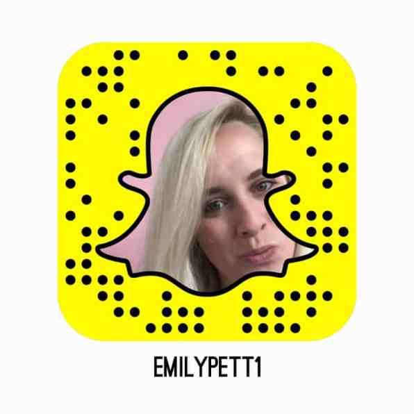 Follow emilypett1 on Snapchat Bespoke Bride