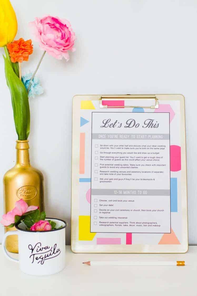 9 FREE PRINTABLES FOR YOUR WEDDING | Bespoke-Bride: Wedding Blog