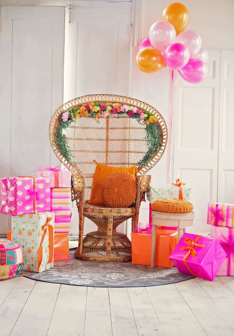 A UNIQUE VIBRANT, COLOURFUL & MODERN BRIDAL SHOWER (40)