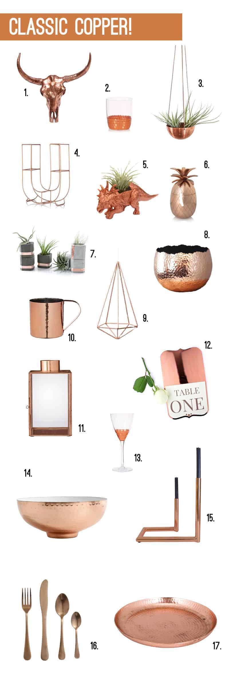 Classic Copper - Wedding Accessories 2