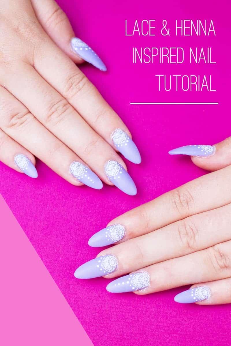 Festival Lace Bridal Nails Lavender Purple Elegant Glastonbury Nail Tutorial_-final