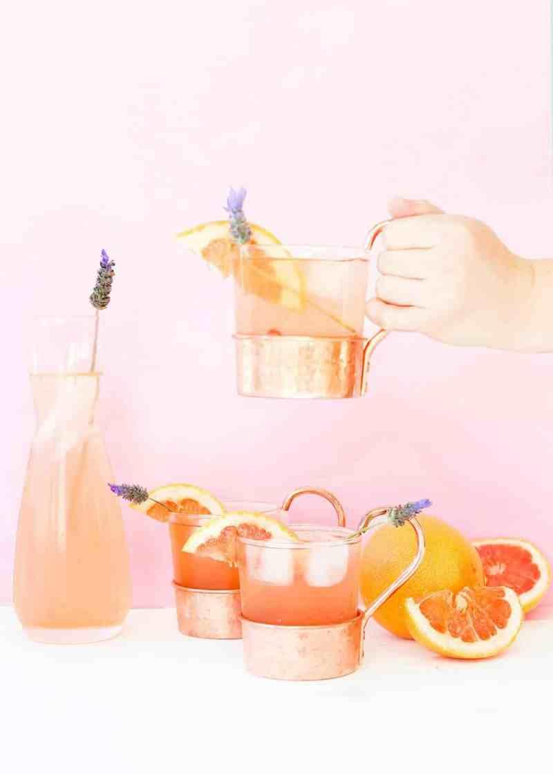 Lavender-Grapefruit-Gin-Buck-2 - Sugar & Cloth