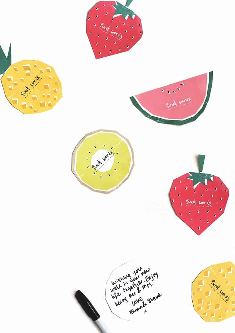 QUICK & EASY WEDDING DIYS THAT WILL SAVE TIME & MONEY-fruit-printables-4