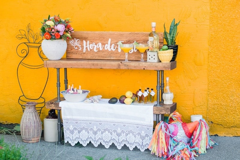WATERCOLOUR MEXICAN FIESTA INSPIRED WEDDING IDEAS (3)