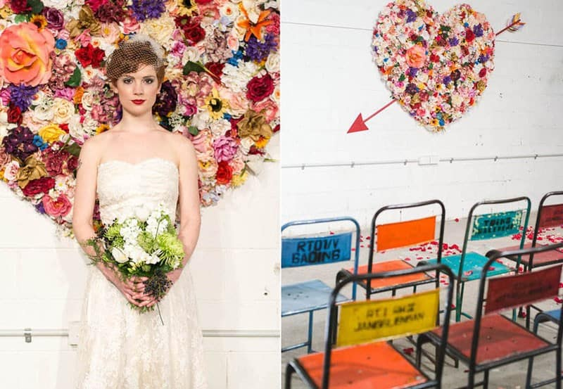 Industrial Warehouse wedding reception Inspiration