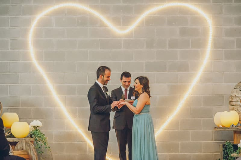 Warehouse Wedding in Spain