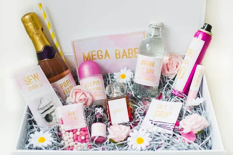 Emergency Bride Kit Wedding day kit DIY make your own box bag essentials labels_-5