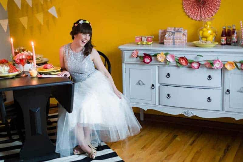 fun-colourful-yellow-coral-peach-wedding-and-bridal-shower-ideas-12