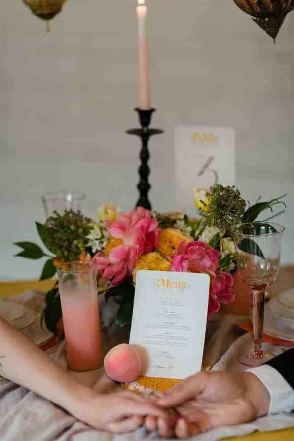 fun-colourful-yellow-coral-peach-wedding-and-bridal-shower-ideas-21