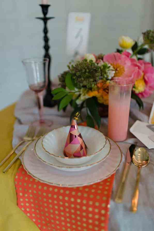 fun-colourful-yellow-coral-peach-wedding-and-bridal-shower-ideas-25