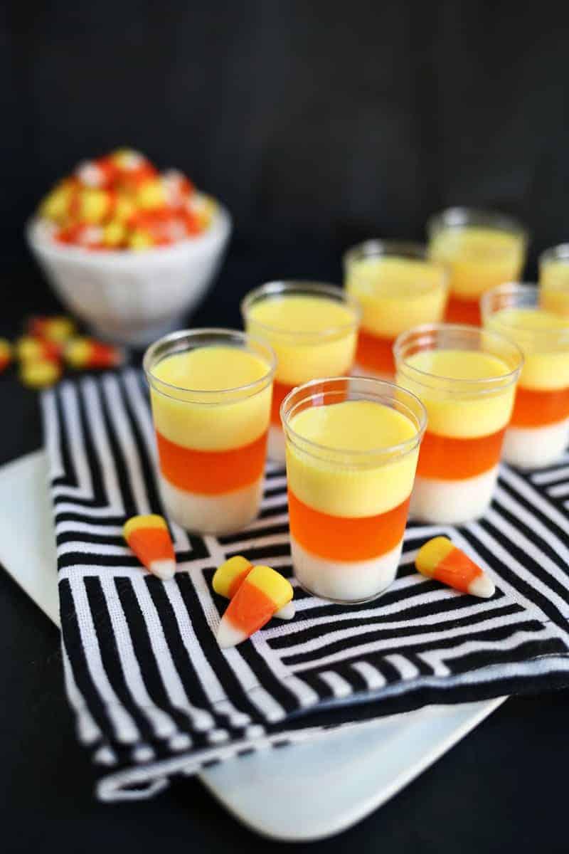candy-corn-jello-shots-for-halloween