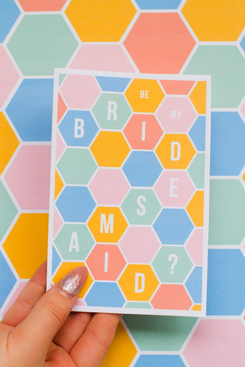 hexgaon-bridesmaid-card-modern-geometric-free-printable-stationery-will-you-be_-2