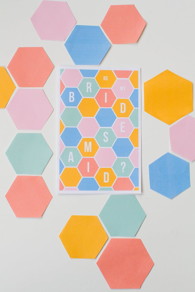 hexgaon-bridesmaid-card-modern-geometric-free-printable-stationery-will-you-be_