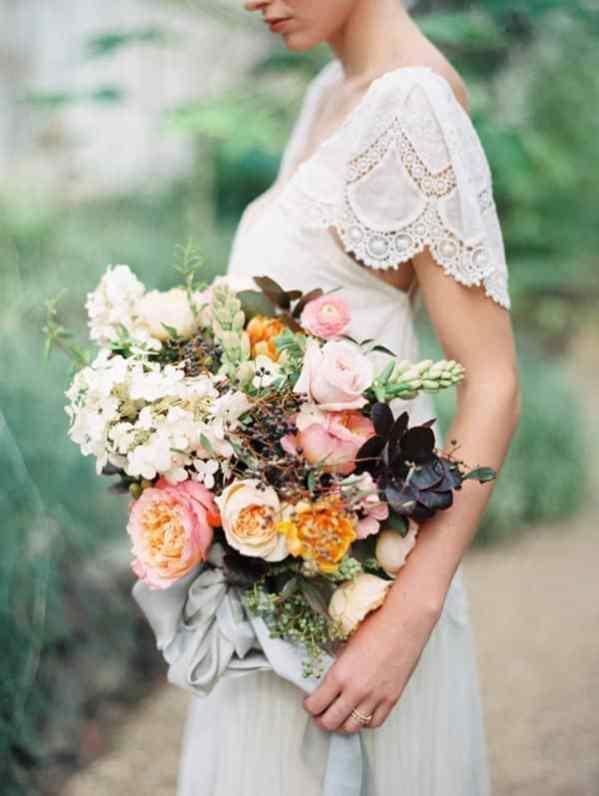 Ruffled - photo by Luna de Mare Photography https://ruffledblog.com/greenhouse-romance-wedding-editorial