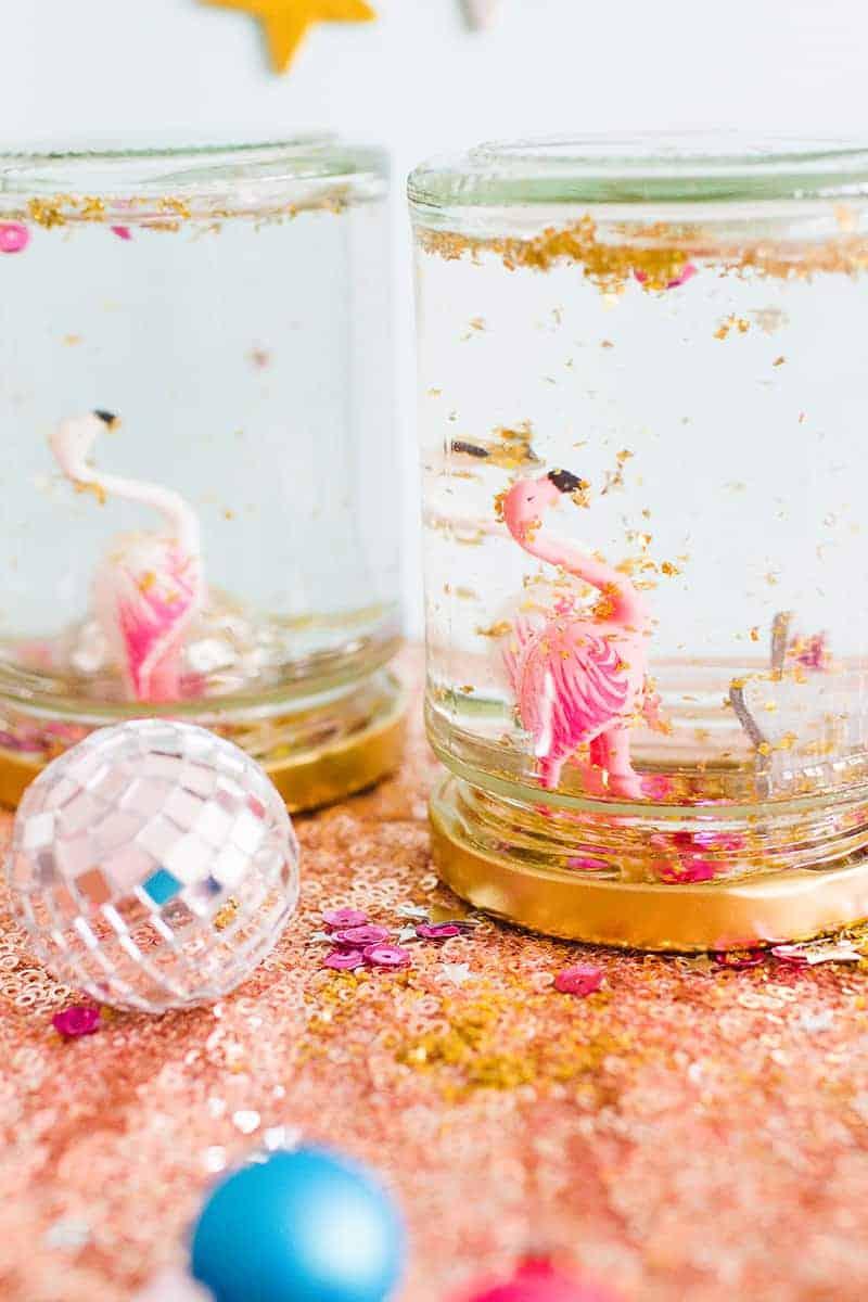 diy-flamingo-snow-globes-7