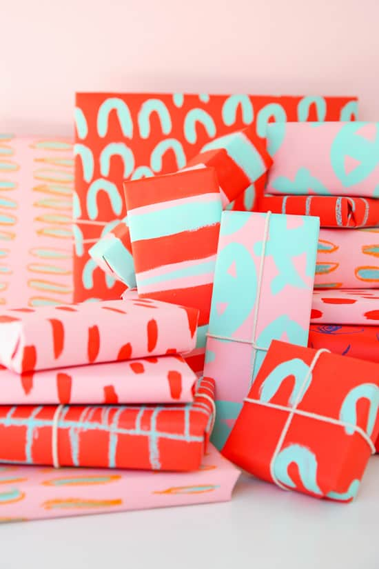 diy-pattern-gift-wrap-paper-stitch