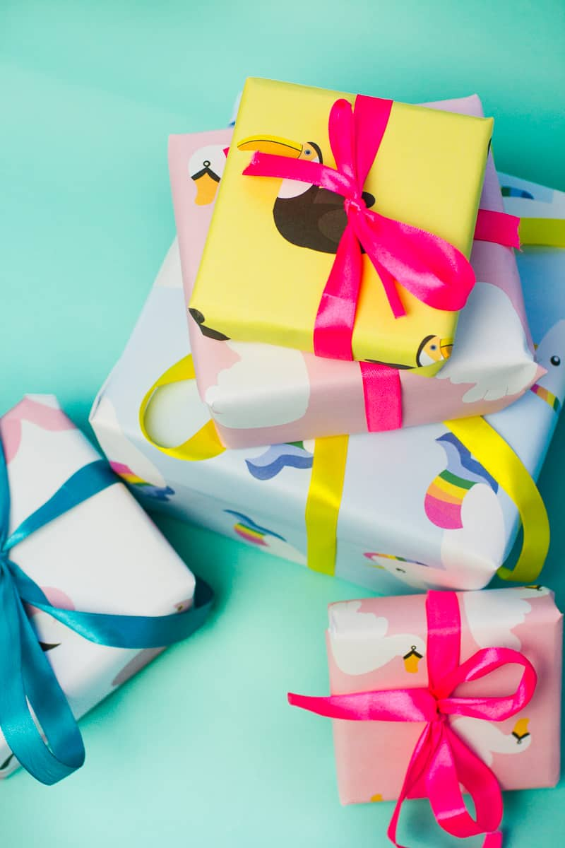 15 unique gift wrap
