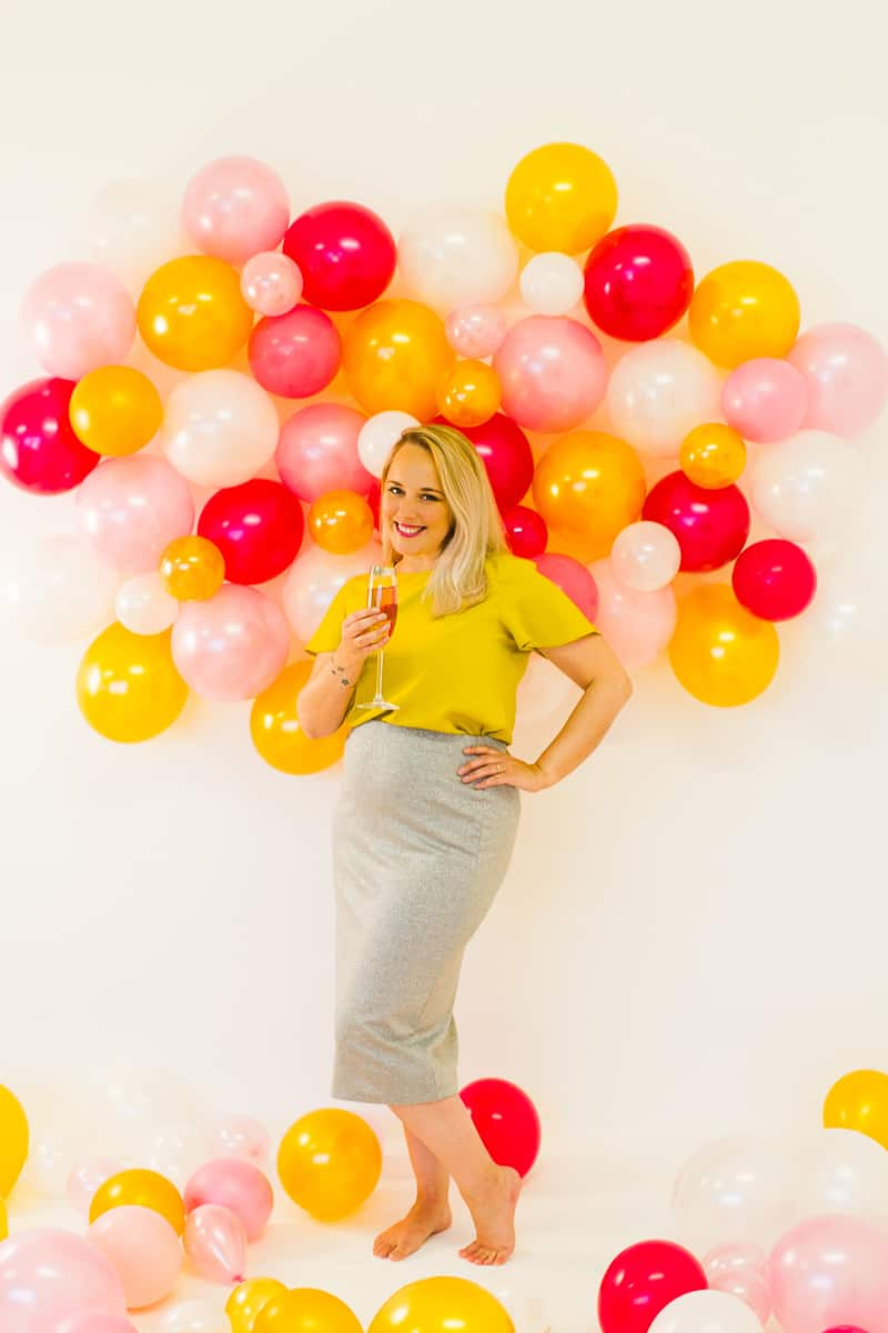 DIY BALLOON WALL BACKDROP FOR YOUR NYE PARTY!   Bespoke ...