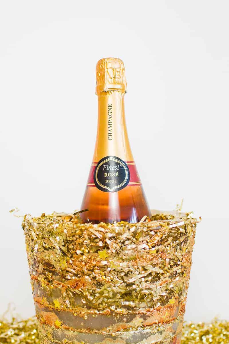 diy-glitter-ice-bucket-christmas-gold-metallic-confetti-bronze-copper-centrepiece-wine-cooler-champagne-14