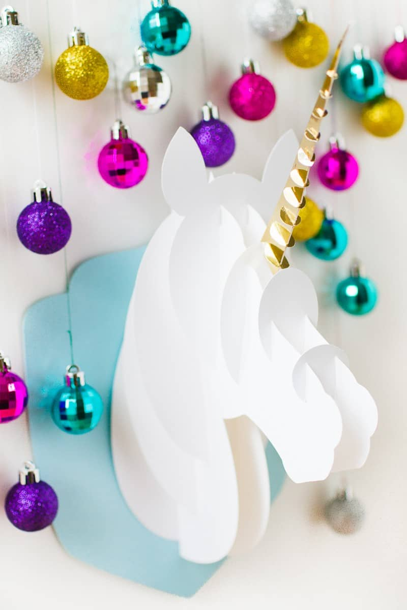unicorn-head-diy-christmas-decoration