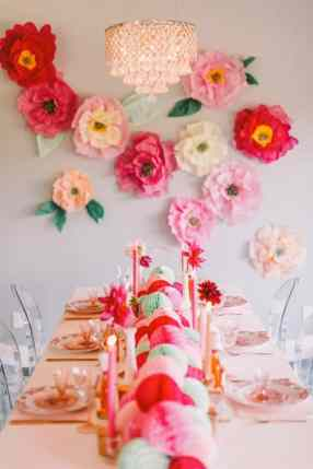 best-paper-flower-tutorials-for-your-wedding-diy-flower-wall-bespoke-bride-wedding-blog
