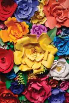 50 best paper flower tutorials bespoke bride wedding blog best paper flower tutorials for your wedding giant mightylinksfo Images