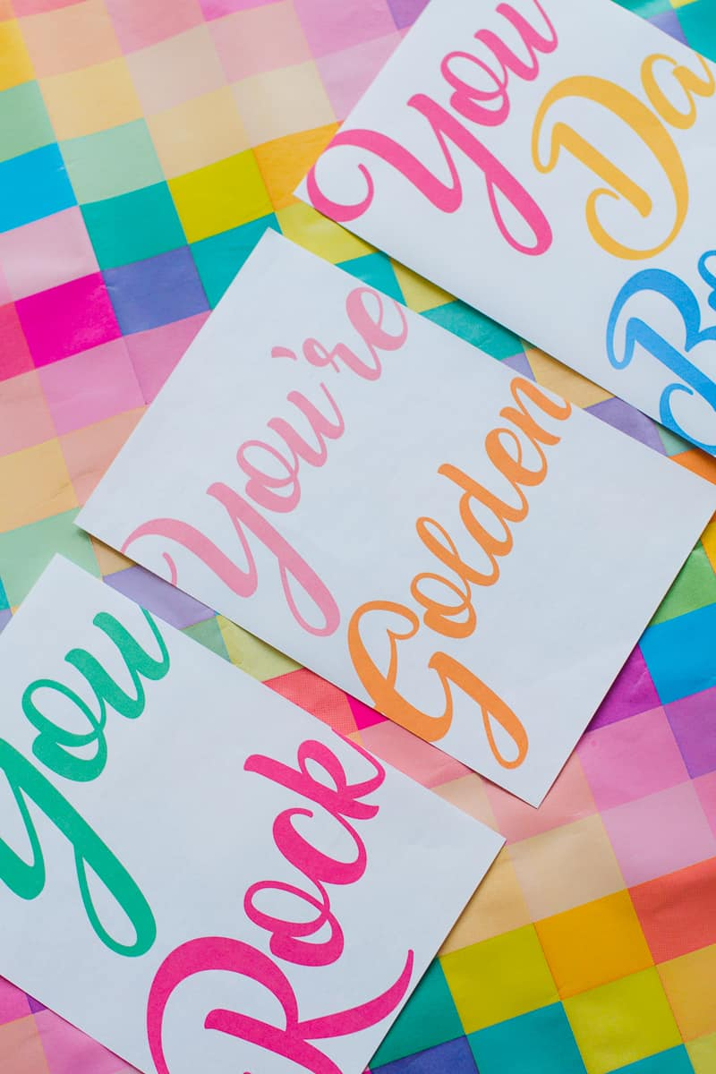 free-printable-thank-you-cards-calligraphy-modern-wedding-postcard-colourful-7-youre-golden