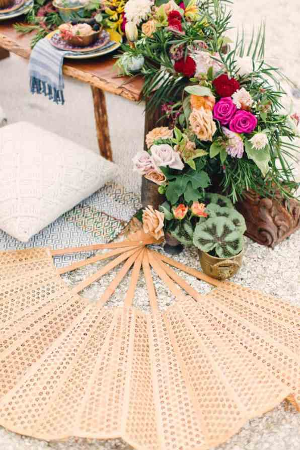 HOW TO STYLE A MOROCCAN BOHO BEACH WEDDING (26)