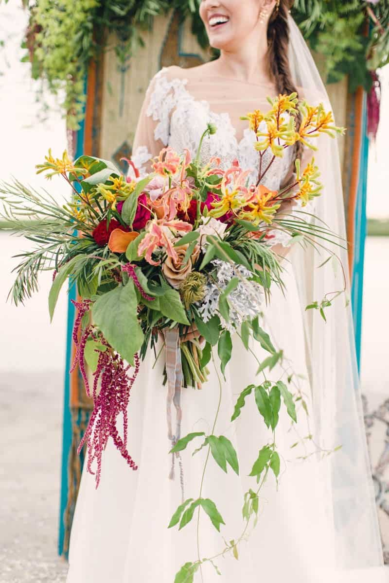 HOW TO STYLE A MOROCCAN BOHO BEACH WEDDING (5)