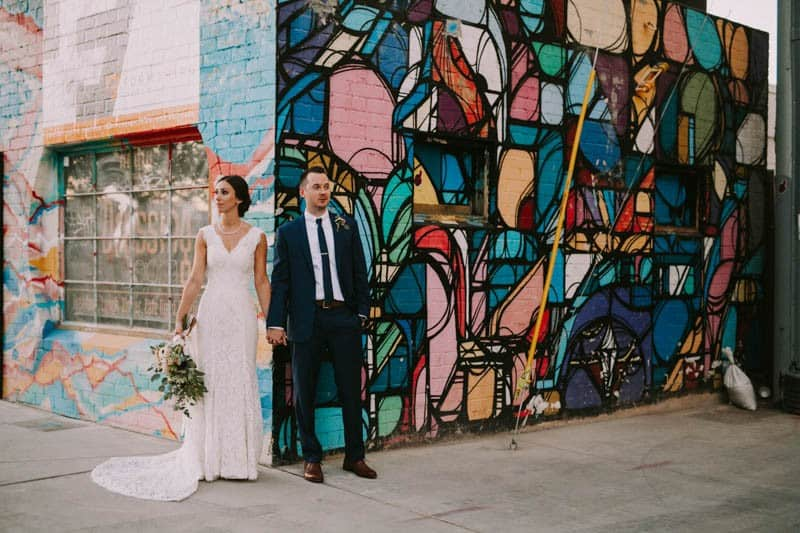 A PERSONALIZED & RUSTIC WEDDING IN A DOWNTOWN PHOENIX ART GALLERY (15)