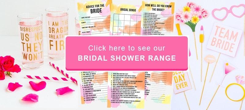 Bridal Shower Range Button