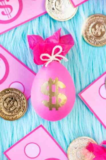 DIY MONEY BAG EASTER EGGS - STUDIO DIY