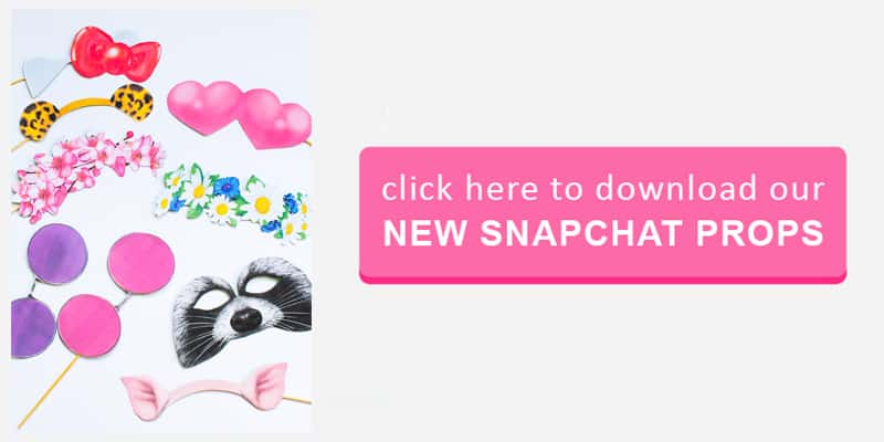 New Snapchat Props Button
